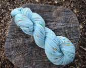 Frosted Sugar Cookie Full Grown Sock 75/25% Superwash Merino Nylon Blend Hand Dyed Sock Yarn 100gr