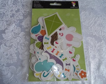 Troquelados Die-cuts by Imaginisce 24 Pieces