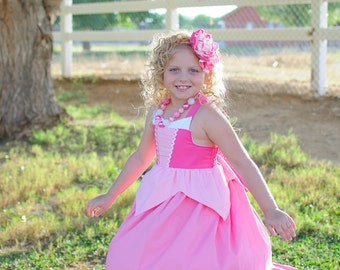 Sleeping Beauty Dress, Princess Party Dress inspired by Disney's Aurora available in sizes 18m, 2T-8girls