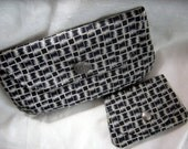 Small clutch/large wallet