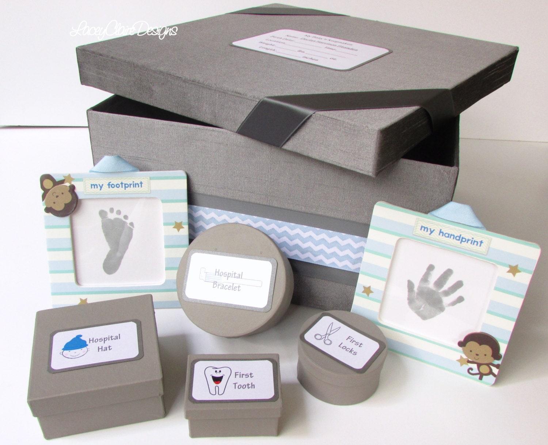 baby keepsake box baby shower box baby memory box baby. Black Bedroom Furniture Sets. Home Design Ideas