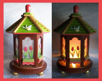 Tulip Night Light Lamp, Table Lamp, Decorative Lighting,