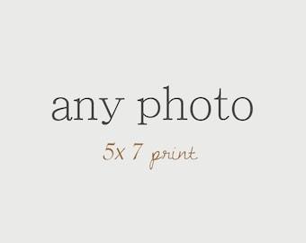 Customize Any Photo 5x7