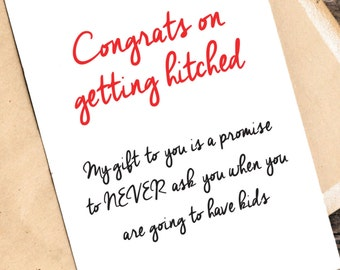 Wedding Gift List Message Funny : ... wedding box card, wedding gift, wedding message, funny card, getting