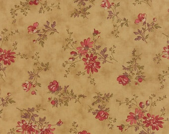 Atelier - Delicate Sprays in Chamois by 3 Sisters for Moda Fabrics