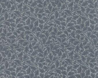 Best of Morris - Acorn in Light Blue by Barbara Brackman for Moda Fabrics