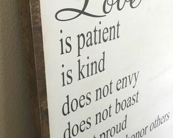 Love Is... 1 Corinthians 13