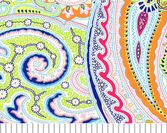 Fabric Finders Bright Paisley