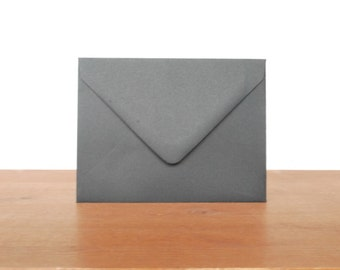black A2 envelopes: set of 10, blank