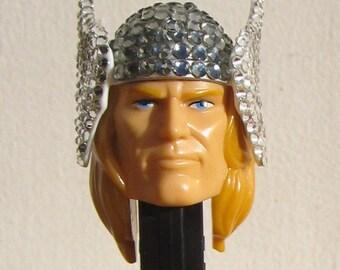 Thor rhinestone encrusted Pez Dispenser