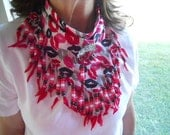Bandanas, Neck Scarf, Lips, Wearable Art, Western Wear