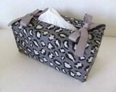 Tissue Box Cover/Leopard