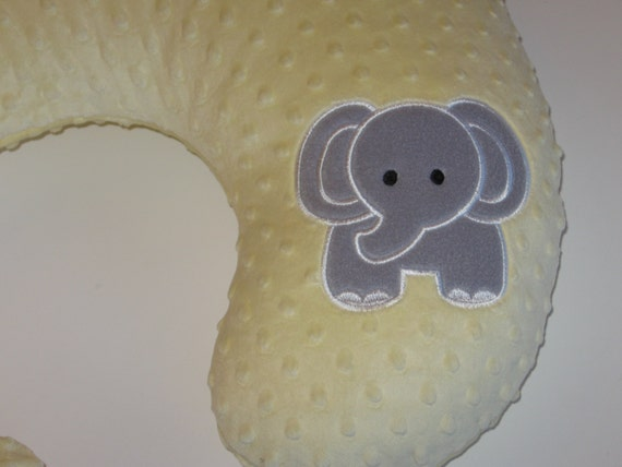 Zoo Animal Pillows : Boppy Slipcover Boppy Cover Elephant Zoo Safari by MoMaCreates