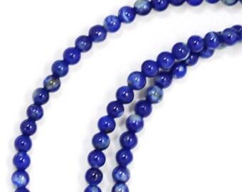 Lapis Lazuli Beads - 2mm Round