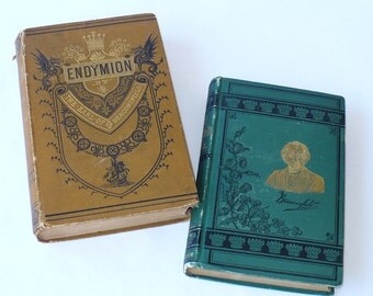 Benjamin Disrael, Vivian Gray, Endymion, Books Movies Music, Books, Literature Fiction,Vintage Books, Collectible Books, Antique Books