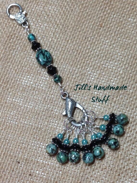 Knitting Lifeline With Stitch Markers : Snag Free Stitch Marker Set & Knitting by JillsHandmadeStuff