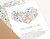 Woodland Baby Shower Invitation, Gender Neutral Shower Invite // WOODLAND WONDER