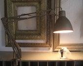 Vintage Industrial Metal Folding Lamp Articulating Lamp