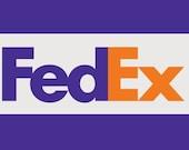 Fedex, fast shipping 5 days