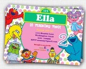 Sesame Street Invitation - Printable