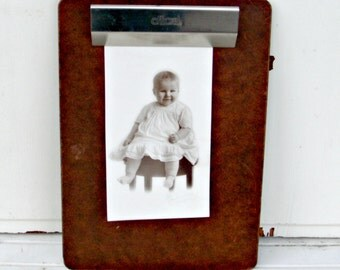 Vintage Clipboard Letter Size | Mad Men Style Office Supplies