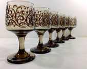Vintage Libbey Wine Glasses