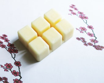 Japanese Cherry Blossom Scented Melts - Natural Vegan Soy Wax - Soy Candles - Soy Wax Melts - Soy Tarts