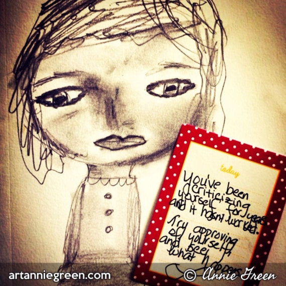 Mixed Media:  Positive Words