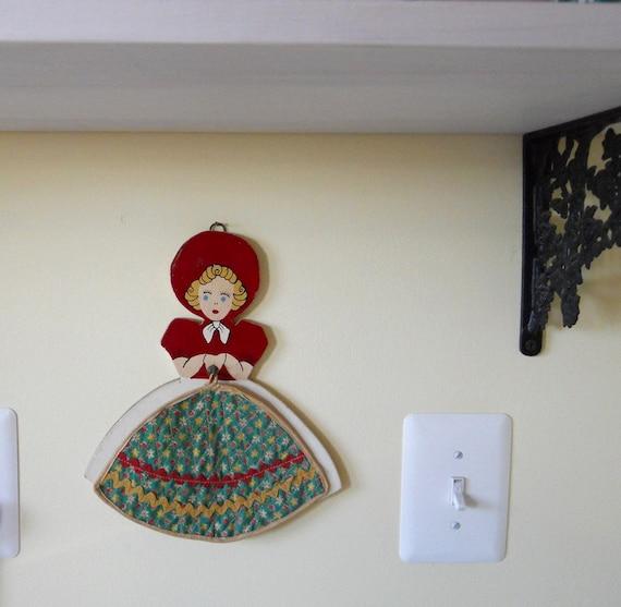 Vintage Pot Holder Kitchen Wall Display Southern Belle Home