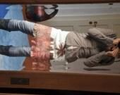 pixie felted skirt wrap around size S, Europe 36,nuno felt