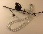 Vintage Swarovski aurora borealais necklace