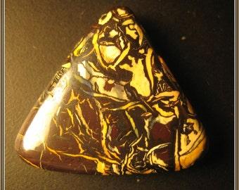 Boulder Opal cabochon, 26x24x6 mm, 28.80 ct