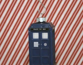 Doctor Who TARDIS Incredibly Detailed DELUXE Christmas Ornament