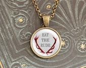 """Eat the Rude """"Red"""" - Hannibal Necklace"""