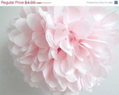 Blush Tissue Pompom ... Wedding decoration / Bridal Shower / Birthday / Party Decoration /DIY