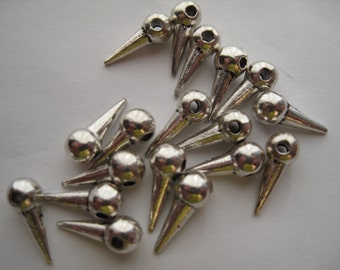 23 Silver Spikes