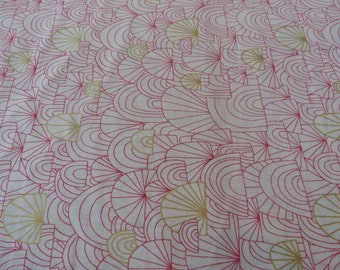 Spree, Revelry Collection by Lisa Congdon for Cloud 9 Fabrics, 1/2 yd Voile