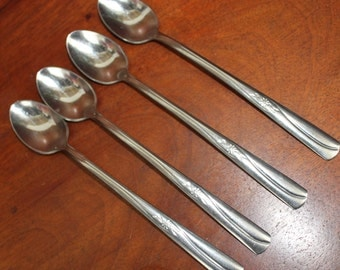IMPERIAL Stainless Flatware IMI41 starburst, Star Atomic pattern  BiN 32