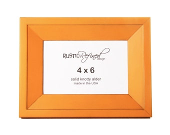 4x6 Haven picture frame - Mango