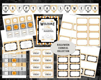 INSTANT DOWNLOAD - Halloween Carnival Collection