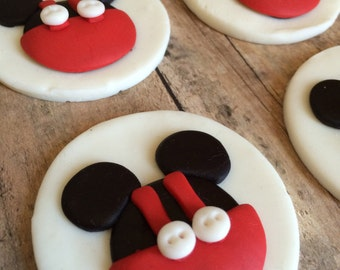 EDIBLE (Fondant Toppers) - Mickey Mouse Inspired