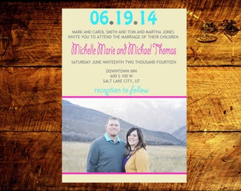 wedding announcement, photo wedding invitations, modern wedding invitations, wedding invitations, wedding invites