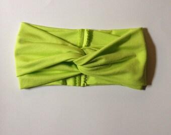 Lime Turban Headband