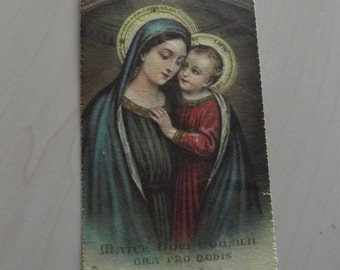 Five - 5 - vintage religious Holy Cards