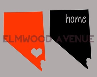 NEVADA decal sticker