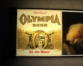 Olympia Beer Sign, Lighted Sign, Beer Sign, Collectible