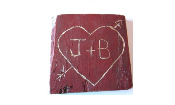 Rustic Wedding Signs personalized wood signs / personalized wedding gifts . heart arrow . 5th anniversary gifts for her him