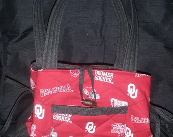 Oklahoma University Purse, OU, Sooners, Boomer Sooners