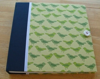 Baby Book/ Photo Album/ Baby Bird Srapbook