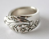 Antique Spoon Ring (Silver Plated)- Evening Star, 1942
